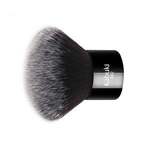 Image 2 - Zoreya marca donna moda nero Kabuki pennello morbido capelli sintetici strumenti per il trucco del viso portatile da prendere e facile da usare