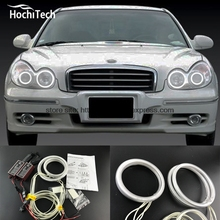 HochiTech Excellent CCFL Angel Eyes Kit Ultra bright headlight illumination for Hyundai Sonata 2002 2003 2004