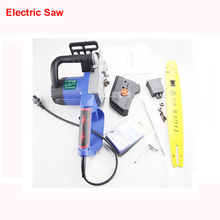 820mm Rechargeable electric chain saws high power 48V DC electric cutting saws household woodworking saw chains saws 3500r / min