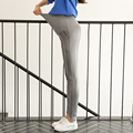 New Autumn and winter Maternity Pants with Velvet slim trousers leggings warm Abdominal adjustable Fashion leather pants