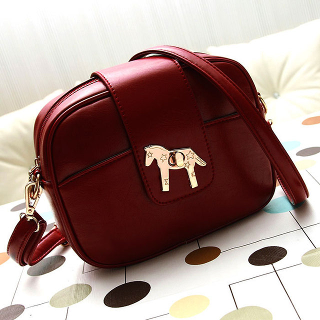 2017 New Fashion Handbags Women Bags Designers Brand Casual Shoulder With Horse Logo