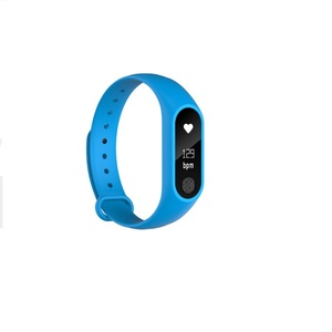 Image 2 - Free Shipping Smart Bracelet M2 Heart Rate Monitor Pedometer  Waterproof Bluetooth Smart Wristband For iOS Android