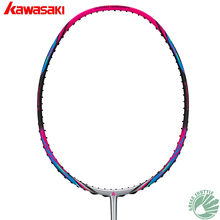 2019 Kawasaki 6U Super Light Nano Carbon Fiber Badminton Racket Aerofoil Frame 6800 680 Badminton Racquet(China)