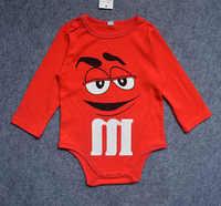 Для малышей Детские комбинезоны для мальчиков и девочек одежда 2018 футболка с длинным рукавом для новорожденных Одежда для новорожденных ко...