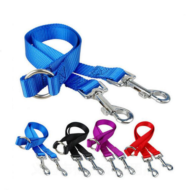 WALK 2 Two DOGS Leash COUPLER Double Twin Lead Walking Leash 2