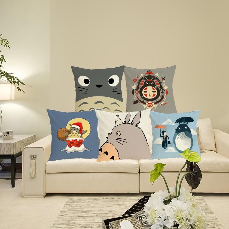 2015 Jauns kokvilnas gultas spilvena segums karikatūra Drukas - Mājas tekstils