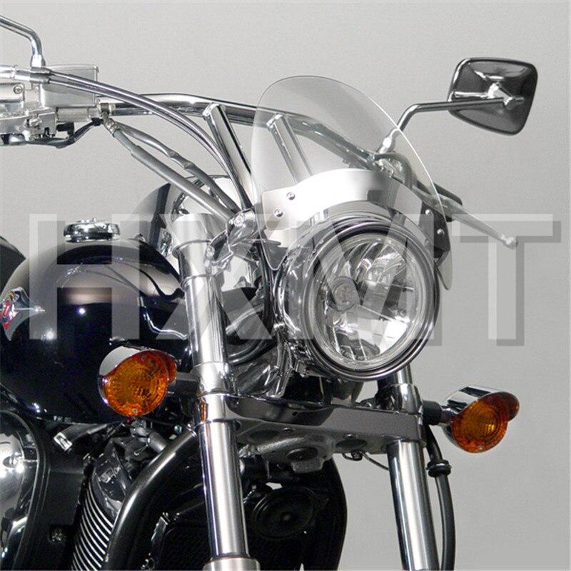 Pour Yamaha Vmax V-Max 1200 VMX1200 XVS1300C Stryker XVS950C Boulon R-Spec Nouveau vélo moto moto Pare-Brise pare-brise