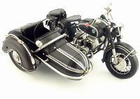 Vintage wrought iron decorative antique crafts Motorcycle locomotive Indian Bar Cafe decoration