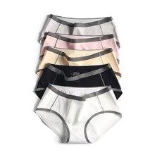 Cotton Panties Lingerie Women Underwear Intimates Ladies Briefs Seamless Fashion Women's