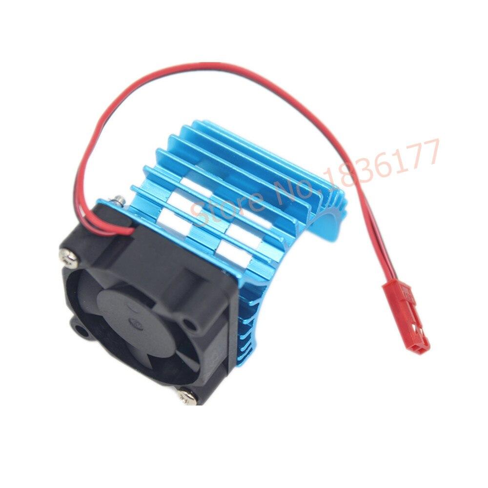 30X30mm Aluminum 380 &390 Motor Heat Sink & Cooling Fan 3-6V JST Connector HeatSink For HSP 28006 RC 1/16 Electric Car for asus u46e heatsink cooling fan cooler
