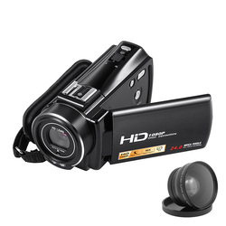 Original 24MP Double Image Stabilization HDV Camcorder HDV-V7 3.0 LCD Display 1080P HD Digital Video Cameras Professional DVR