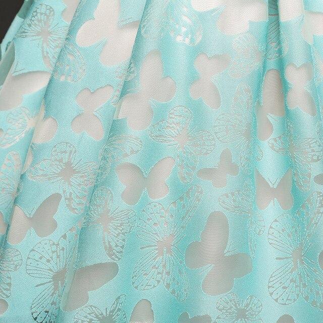 2dfbc074007c Fancy Butterfly Kids Girl Wedding Flower Girls Dress Princess Party ...