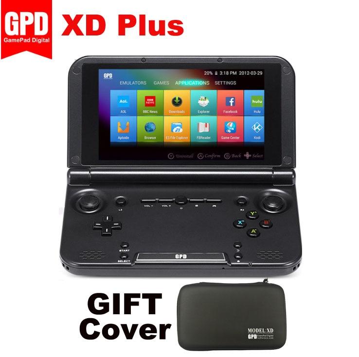 """Nouveau GPD XD Plus manette 5.0 """"4 go RAM 32 go ROM WiFi tablette MT8176 Hexa Core 1280*720 Android 7.0 lecteur de jeu portable noir"""