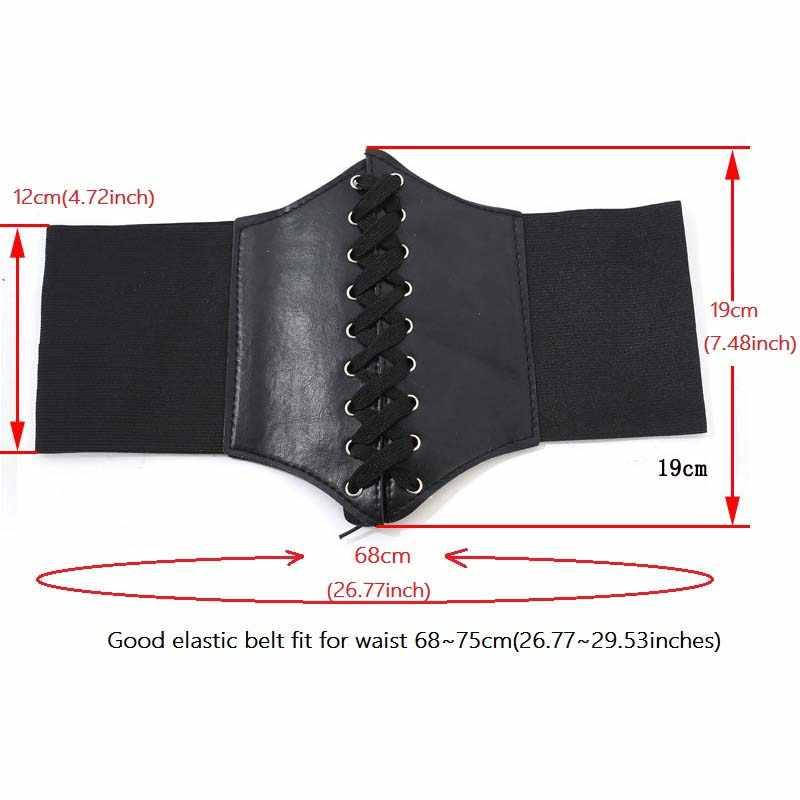 2019 รัดตัวกว้างเข็มขัดหนัง PU Slimming Body เข็มขัดผู้หญิงเข็มขัดเอว cinto sobretudo feminin Ceinture Femme fajas