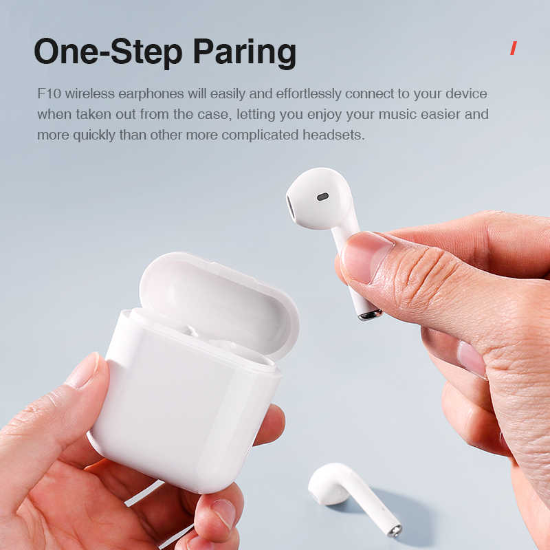 SANLEPUS i10 tws 5.0 ワイヤレス Bluetooth イヤホンステレオインナーイヤーヘッドホンミニヘッドセットすべてのスマートフォンのためのアップグレード
