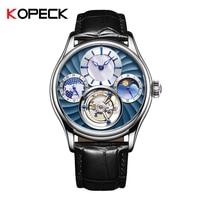 2019 механические часы для мужчин лучший бренд часы для мужчин сапфир зеркало оригинальный Tourbillon полые двигаться для мужчин t Moon Phase модные ча