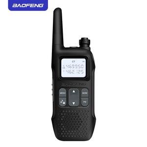 Image 3 - 2pcs baofeng mini walkie talkie portable cb radio R8 2 way radio walky talky emisoras boafeng ham comunicador radio FRS GMRS