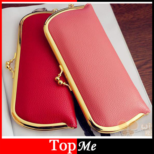 Hot Selling Women Wallets Golden Matel Hasp Lady Purses Handbags Coin Purse Clutch Woman Wallet Cards Holders Money Bags Burse hot selling oversize 1000% bearbrick luxury lady ch be rbrick medicom toy 52cm zy503