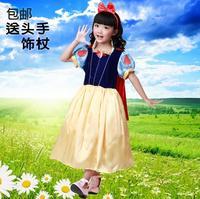 Kid Snow White Princess Dress Birthday Party Halloween Carnival Christmas Gift Snow White Children Elsa Cosplay