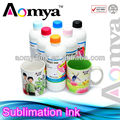 Aomya top quality no clogging Sublimation transfer ink for Epson 4800/7800/9800 printers, 6*500ml