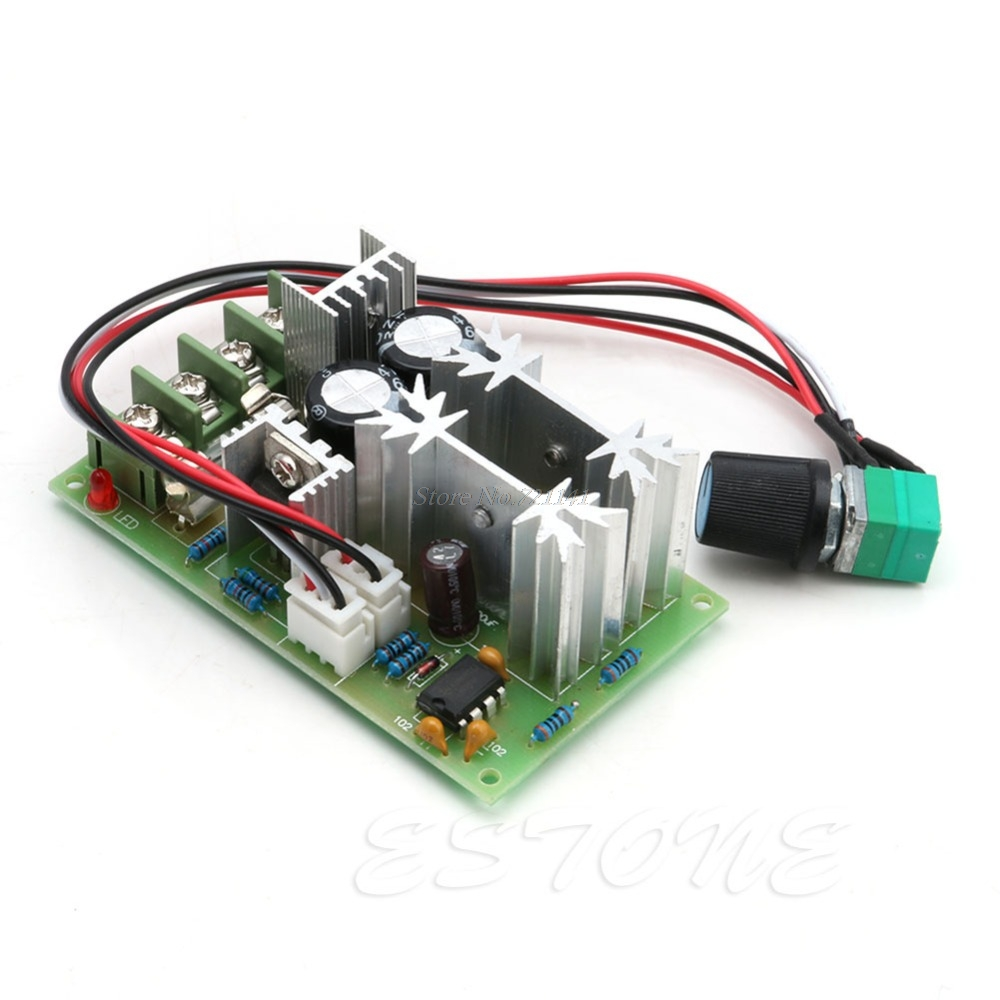 20A Universal DC10-60V PWM HHO RC Motor Speed Regulator Controller Switch New Dropship