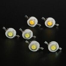 10 шт. полный ватт 1 Вт 3 Вт 5 Вт Высокая мощность светодиодный лампочка 3 в диоды SMD 110-120LM светодиодный s чип для 3 Вт-18 Вт Точечный светильник