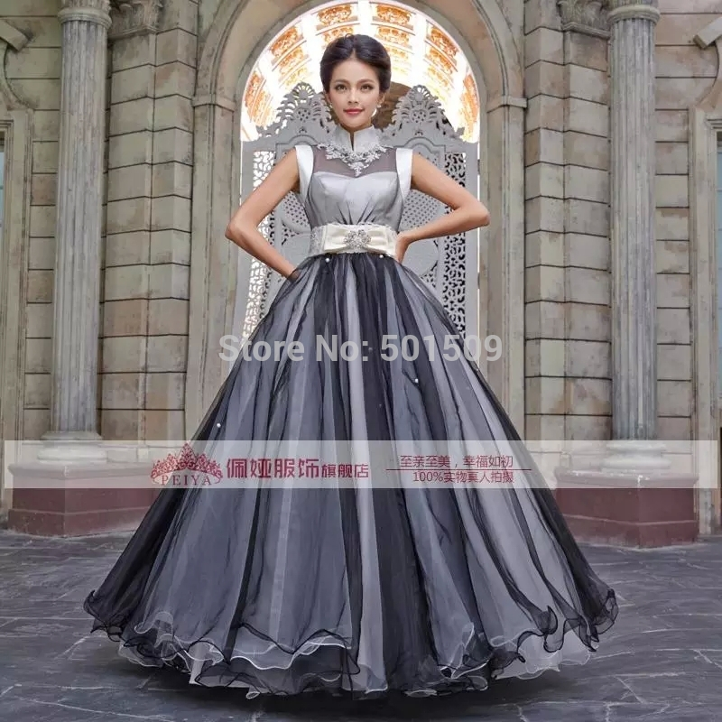 Collar Meval Renaissance Black Grey Gown Queen Dress Stage Costume Victorian Gothic Marie Antoinette Colonial Belle Ball In Movie Tv Costumes From