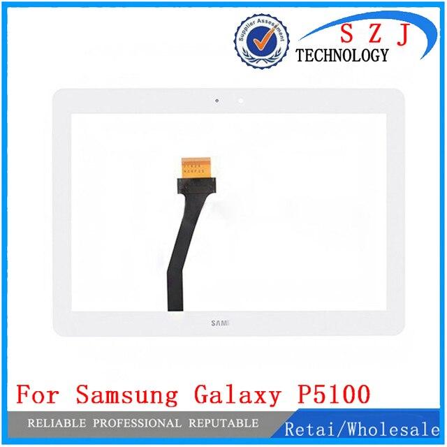 Новый 10.1 ''дюймовый Samsung Galaxy Tab 2 10.1 P5100 Touch Screen Digitizer Стеклянная Панель Замена Замена Экрана Бесплатная доставка