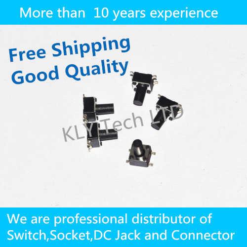 Бесплатная доставка 200 шт./лот сенсорный переключатель 4.5*4.5*7 мм SMD переключатель 4 фута переключатель кнопочный переключатель