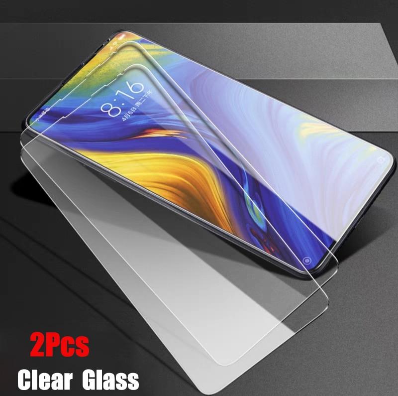 2Pcs/lot Full Tempered Glass For Xiaomi Mi MIX 3 Screen Protector 9H 2.5D Anti Blu-ray Toughened glass For xiaomi mi mix3