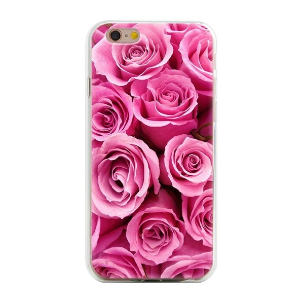 Hot salling multicolor animal plant fruit flowers soft tpu protective back cover case for iPhone 5 5s se phone case07