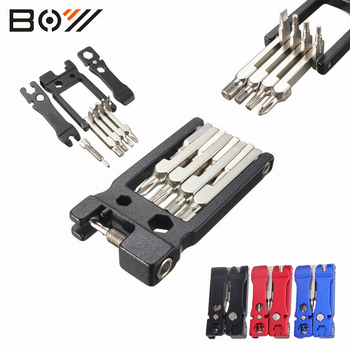 19 in 1 Multi Function Cycling Bike Repair tools Sets Mountain Road Bike Tool Kit Foldable Hex Wrench Cycle Screwdriver Tool