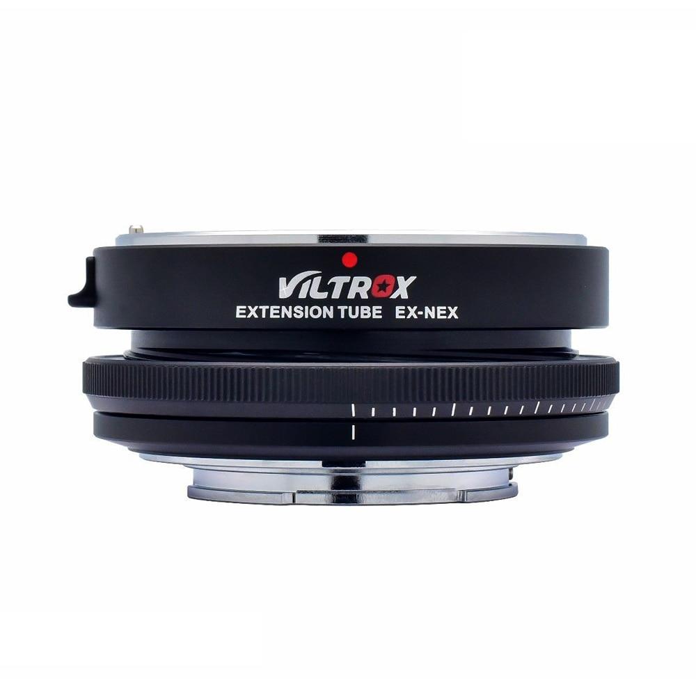 Viltrox EX-NEX AF Auto Focus Macro Extension Tube Adapter for EF EF-S Lens to E Mount A9 A7 A7R II A7SII A7II a6500 NEX-7 NEX-6 цены