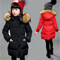 6 clothing girl child 7 winter wadded jacket outerwear child 8 cotton-padded jacket thickening 9 medium-long cotton-padded