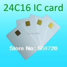 Alta calidad ATMEL 24C16 ISO 7816 Tarjeta de Seguro Médico Contacto Smart Card Tarjeta telefónica IC