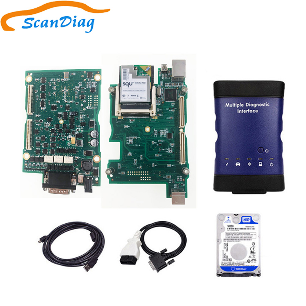 V2018 New for GM MDI Multiple Diagnostic Interface For GM MDI WIFI Multi-Language For GM MDI Scanner as vxdiag for gm