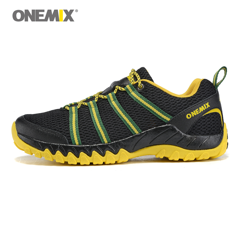 Onemix Lelaki Sukan Running Shoes Sneaker Air Mesh Bernafas Athletic Runner Jogging Trainers For Man Summer Berjalan 7 Warna 1092