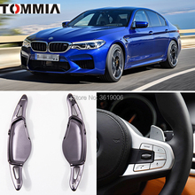 tommia 2pcs Steering Wheel Aluminum Shift Paddle Shifter Extension For BMW M5 2018 Car-styling new movie potter great wall house fit legoings castle figures building blocks bricks model kid toys children kid gift birthday
