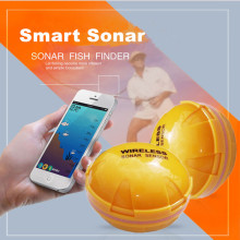 Smart phone fishfinder Wireless Sonar Fish Finder Depth Sea Lake Fish Detect iOS Android App findfish smart sonar echo sounder