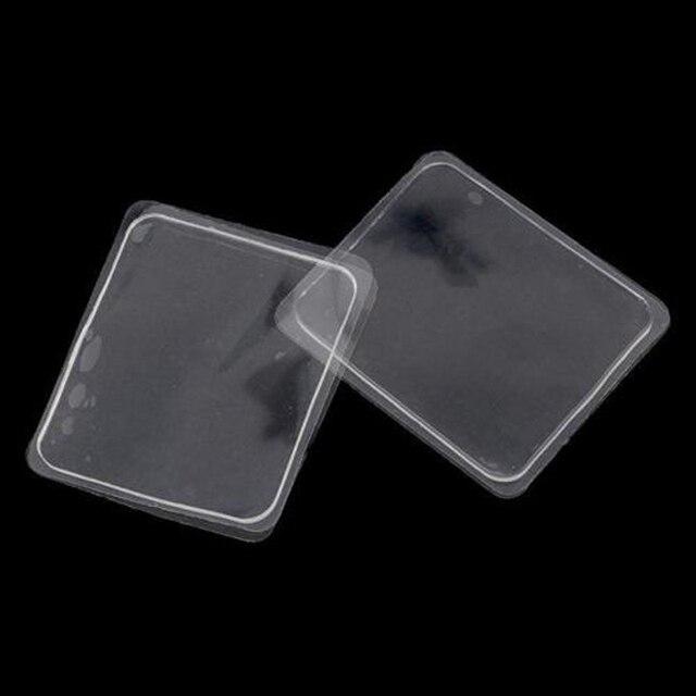 10 cái/bộ Silicone Gel Pad Đa Chức Năng Thảm Chống Trượt Thảm Tái Sử Dụng Tắm Mat Dễ Dàng Nhãn Dán Dính Chùi Chân Phụ Kiện Phòng Tắm