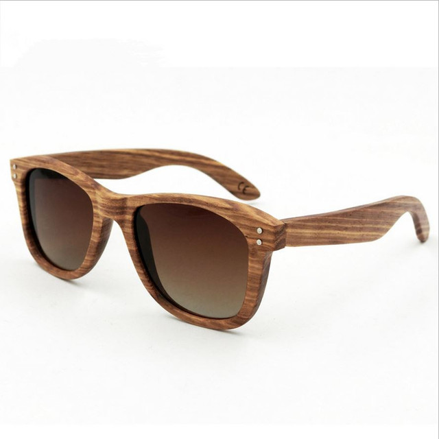 Factory outlets! Handmade Retro Wooden frame Sunglasses Polarized Eyeglasses Colorful Reflective lens Men/Women Wood sunglasses