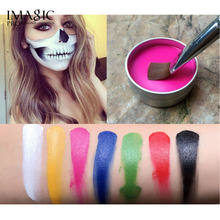 US $2.76 20% OFF|IMAGIC Face Body Paint Oil Art For Halloween Party Cosplay Makeup Paint Body Painting Clown Pigments Temporary Tattoos Primer-in Body Paint from Beauty & Health on AliExpress