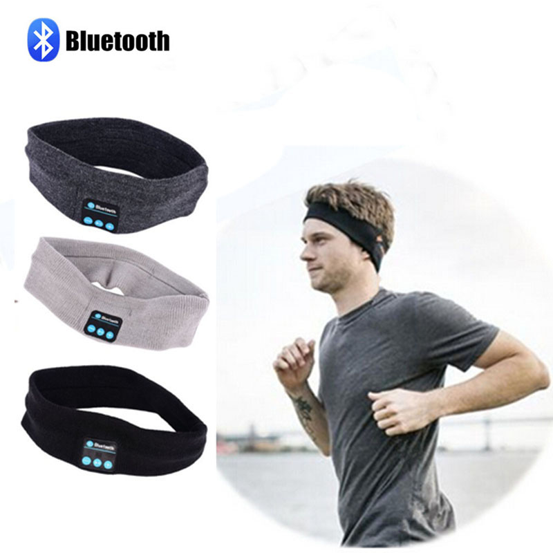 Quality Unisex Bluetooth hat Headband Wireless bluetooth Smart Cap Headphone Sport Headset Speaker With Mic For iphone Samsung sport bluetooth music hat cap handsfree headset headphone built in speaker mic