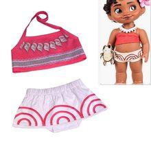 96994062f Children Swimming Clothes Baby girl swimsuits Kids girls Vaiana swim wear  Bikini Toddler Biquini Moana dresses