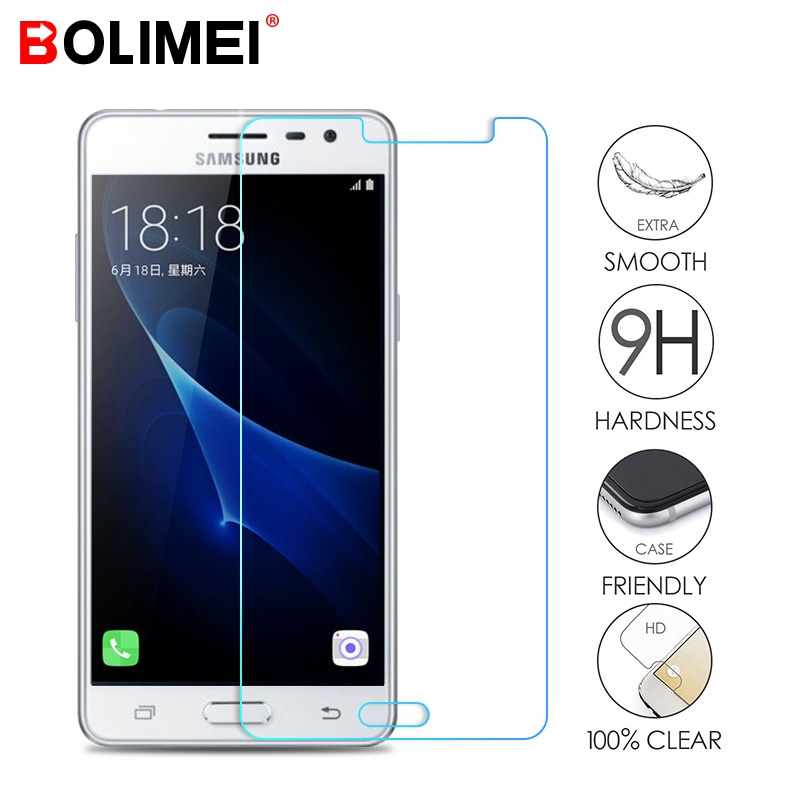 9H Tempered Glass For Samsung Galaxy A3 A5 A7 2016 2017 Screen Protector For Samsung J3 J5 J7 2015 2016 Tempered Glass Film