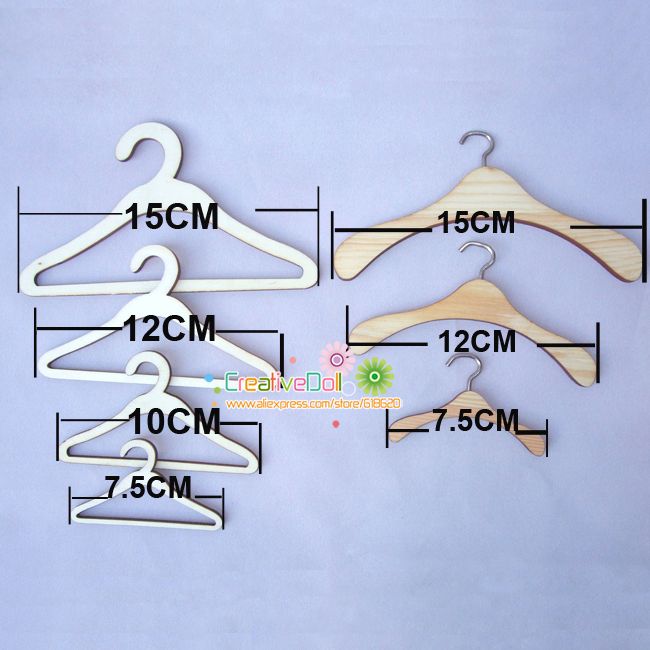 5pcs/lot quality wood metal hangers for blythe doll for 1/3 1/4 1/6 BJD doll accessory uncle 1 3 1 4 1 6 doll accessories for bjd sd bjd eyelashes for doll 1 pair tx 03