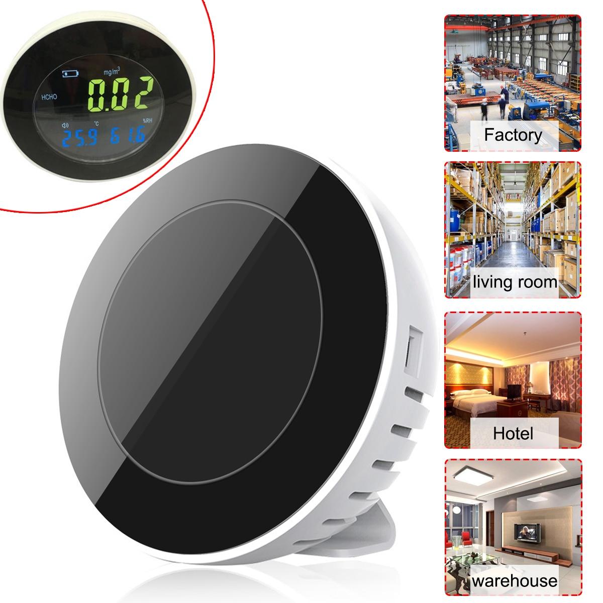FUNN-Hti NEW HT-502 3 in 1 Co2 Meter Temperature Hygrometer Digital Portable Gas Leak Detector Analyzer formaldehyde Monitor T недорого