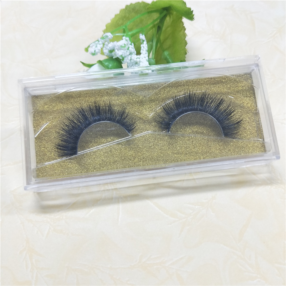 10 Pairs Lashes Natural False Eyelashes Makeup 3d Mink Lashes Eyelash Extension Make Up set free shipping