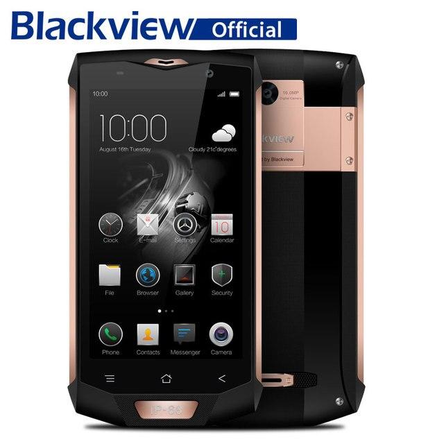 Blackview bv8000 Pro IP68 Водонепроницаемый смартфон 6 г Оперативная память 64 г Встроенная память 5.0 дюймов mt6757 Octa Core 1920*1080 16.0mp 4 г LTE мобильный телефон
