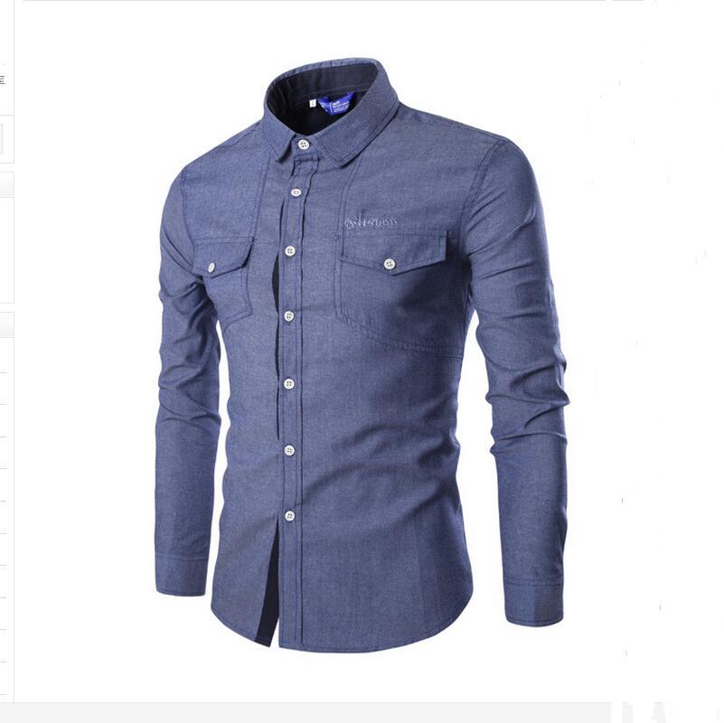 Mens shirts fashion high quality fashion top stitching for High quality mens shirts